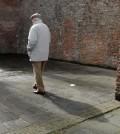 gammal man pensionär