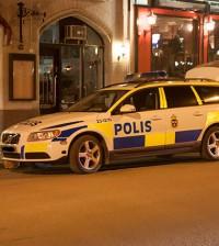 polis polisbil utryckning