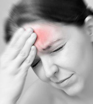 ont i ena ögat huvudvärk